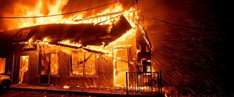 Pożary w Kalifornii. Rośnie tragiczny bilans, nie żyją już 42 osoby
