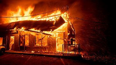 Pożar w Kalifornii, Paradise