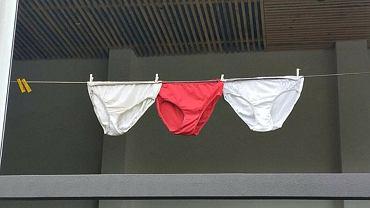 Pranie zamiast zakazanej flagi