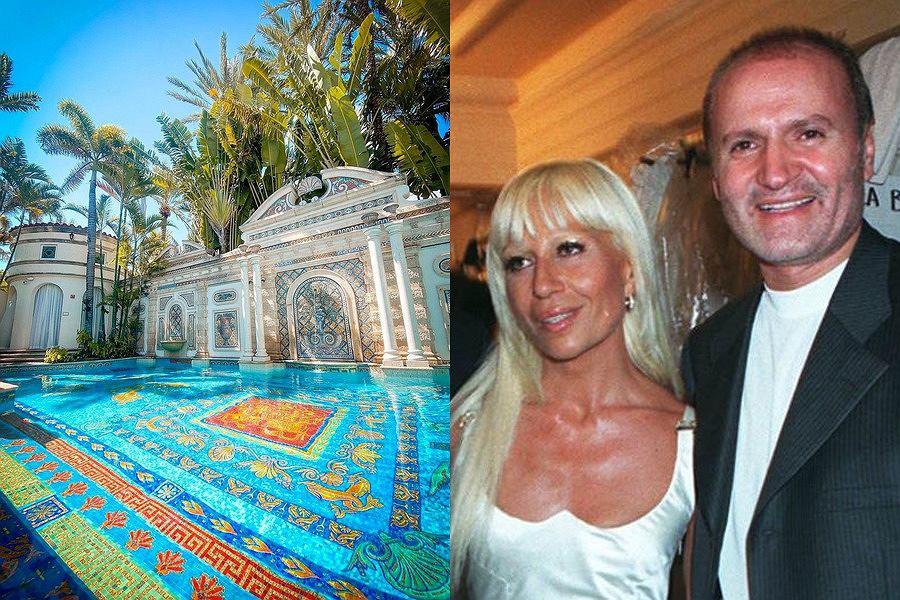 rezydencja Versace, Donatella i Gianni