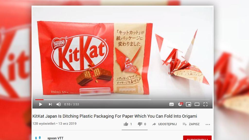 KitKat w Japonii zmienia opakowania batonów