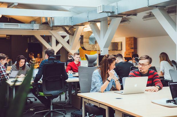 Przestrzeń coworkingowa w Campus Warsaw