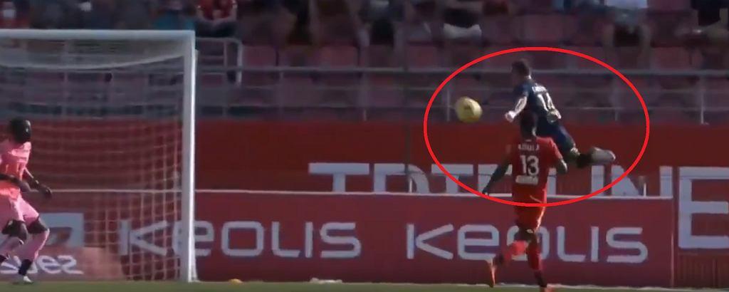 Niewiarygodny gol Irwina Cardony w Ligue 1