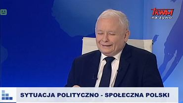 Jarosław Kaczyński w Telewizji Trwam