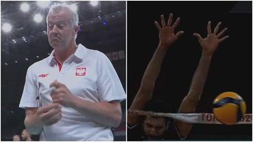 Polska - Iran, siatkówka, Vital Heynen, IO Tokio