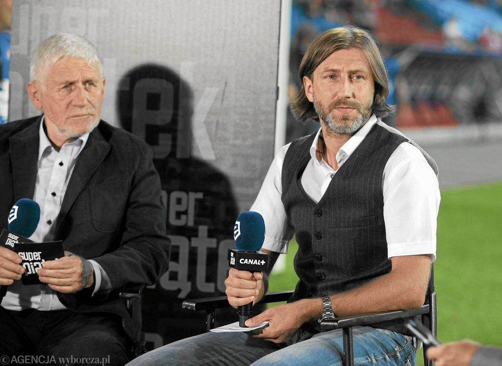 Kamil Kosowski (z prawej) jako ekspert Canal +