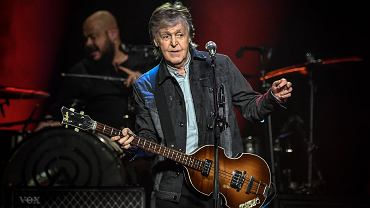 28.11.2018, Paul McCartney na koncercie we francuskim Nanterre.