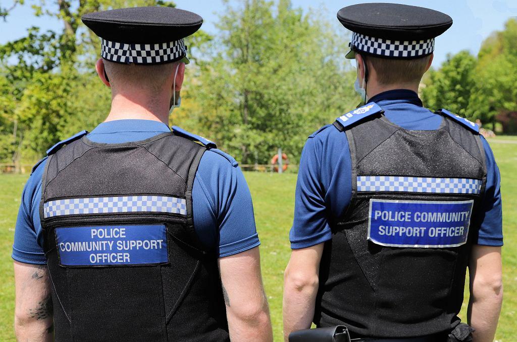 Policja UK - zdjęcie ilustracyjne