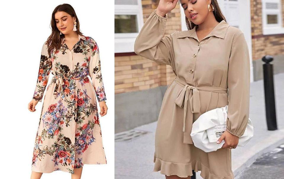 Sukienki dla puszystych z dużym brzuchem