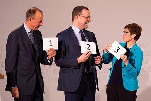 CDU decyduje kto zastąpi Angelę Merkel. Faworytami są Friedrich Merz i Annegret Kramp-Karrenbauer