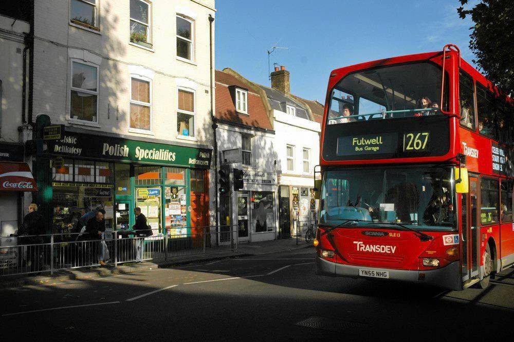 Polski sklep w Hammersmith w Londynie