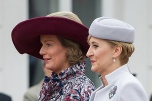 Królowa Matylda i Agata Duda