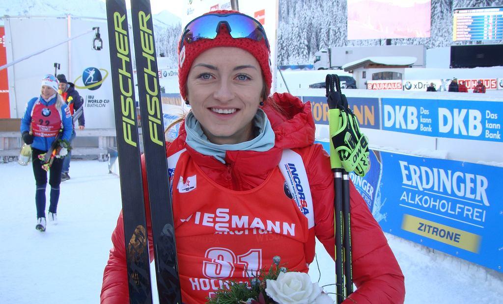 Monika Hojnisz w Hochfilzen