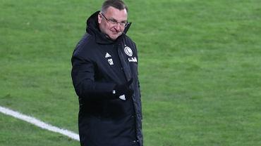 Michniewicz zadowolony po meczu ze Slavią. Mówił też o kontuzjowanych