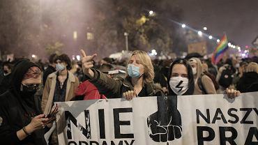 Protesty w Polsce po wyroku TK