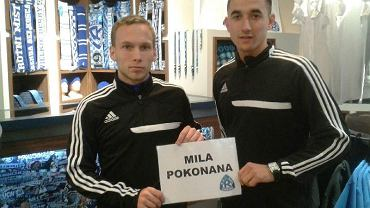 Bartłomiej Babiarz i Martin Konczkowski