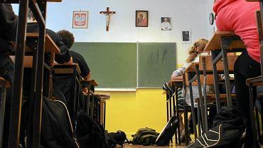Lekcja religii w szkole