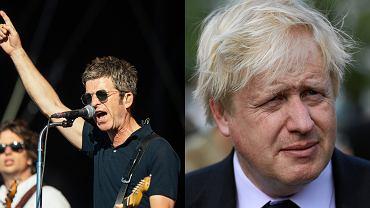 Noel Gallagher/Boris Johnson