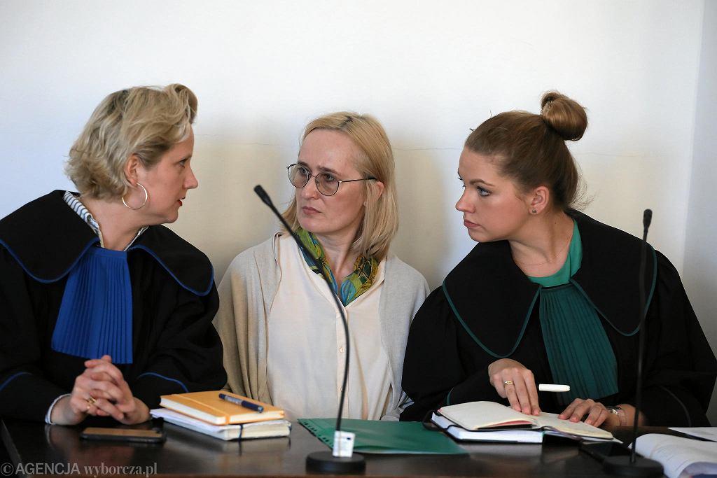 Od lewej Karolina Kędziora, Dorota Nygren i Weronika Papucewicz