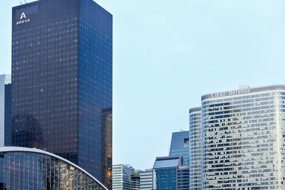 Biurowiec firmy Areva w paryskiej dzielnicy biznesowej La Defense