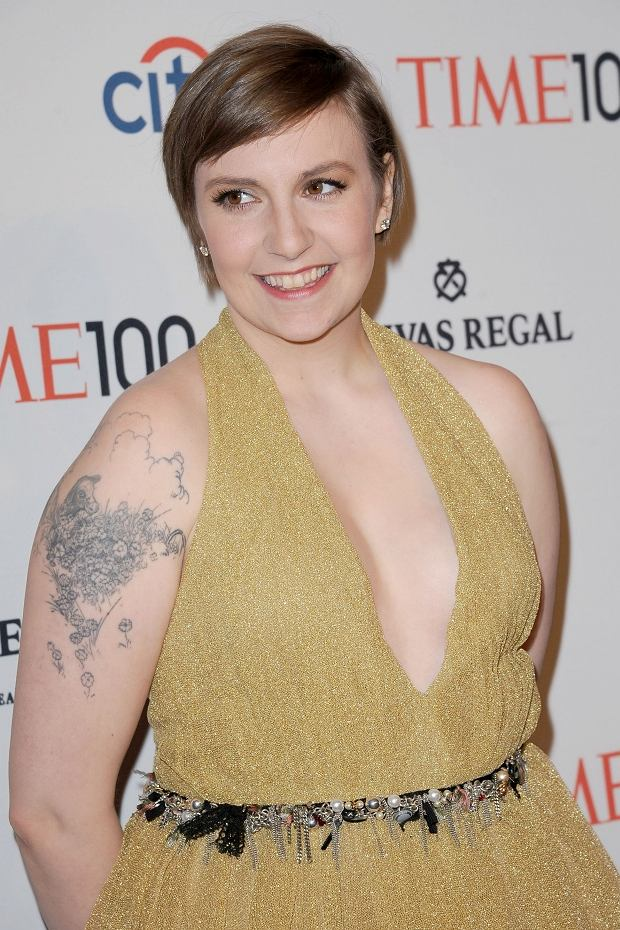 WWW.ACEPIXS.COM . . . . . April 23, 2013...New York City....Lena Dunham attends TIME 100 Gala, TIME'S 100 Most Influential People In The World at Jazz at Lincoln Center on April 23, 2013 in New York City ....Please byline: KRISTIN CALLAHAN - ACEPIXS.COM.. . . . . . ..Ace Pictures, Inc: ..tel: (212) 243 8787 or (646) 769 0430..e-mail: info@acepixs.com..web: http://www.acepixs.com