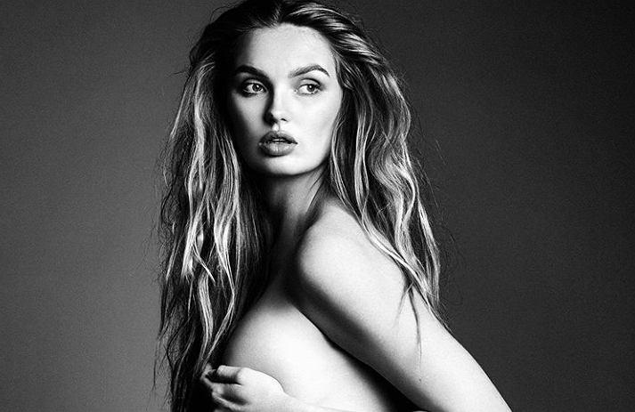 Holenderska modelka w pięknej sesji ciążowej. Zapozowała nago.