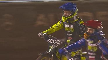 Bartosz Zmarzlik and Artiom Łaguta at the Grand Prix Vojens in Denmark