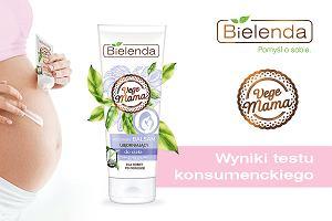 Wyniki testu konsumenckiego Wegańskiego balsamu ujędrniającego po porodzie z nowej linii Vege Mama marki Bielenda. Jak spodobał się przyszłym mamom?