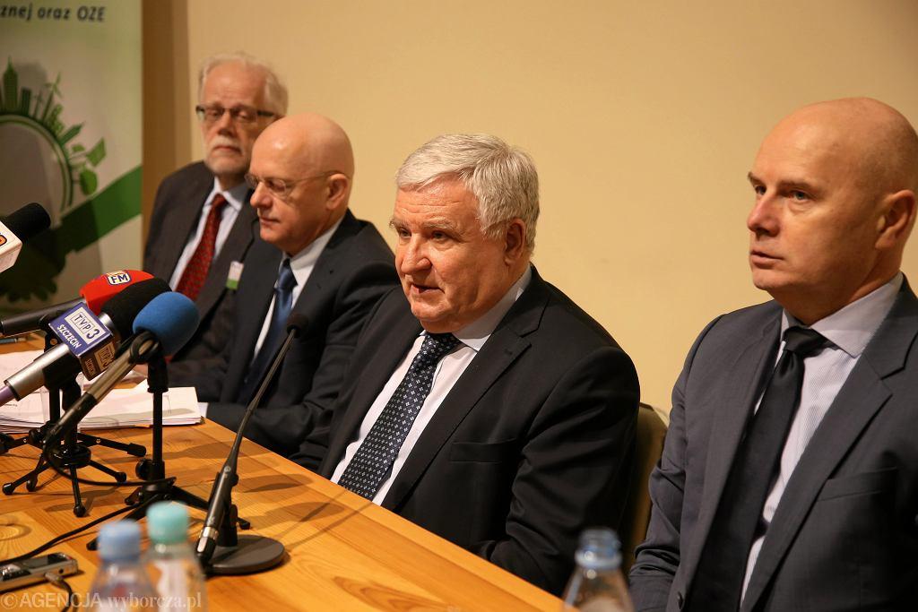 Kazimierz Kujda prezes podczas konferencji 'Efektywność energetyczna i OZE - oferta finansowa i wsparcie doradcze '