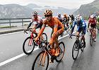 Kolarstwo. Maciej Paterski trzeci na szóstym etapie Tour de Suisse