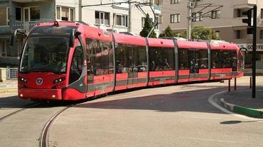 Tramwaj produkowany przez Turków