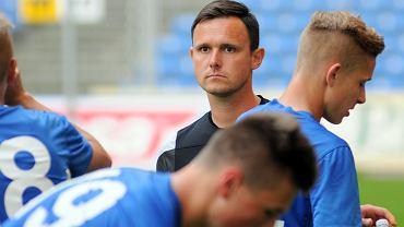 Lech Poznań - UKS SMS Łódź 3:0 w półfinale mistrzostw Polski juniorów młodszych. Trener Przemysław Małecki