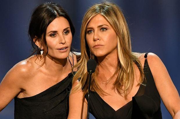 """Jennifer Aniston i Courteney Cox z pewnością najadły się strachu. Prywatny samolot, którym leciały gwiazdy serialu """"Przyjaciele"""", utracił przy wznoszeniu koło. Pilot podjął decyzję o awaryjnym lądowaniu."""