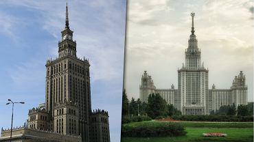 Pałac Kultury i Uniwersytet Moskiewski