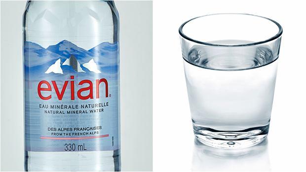 Woda Evian vs kranówka
