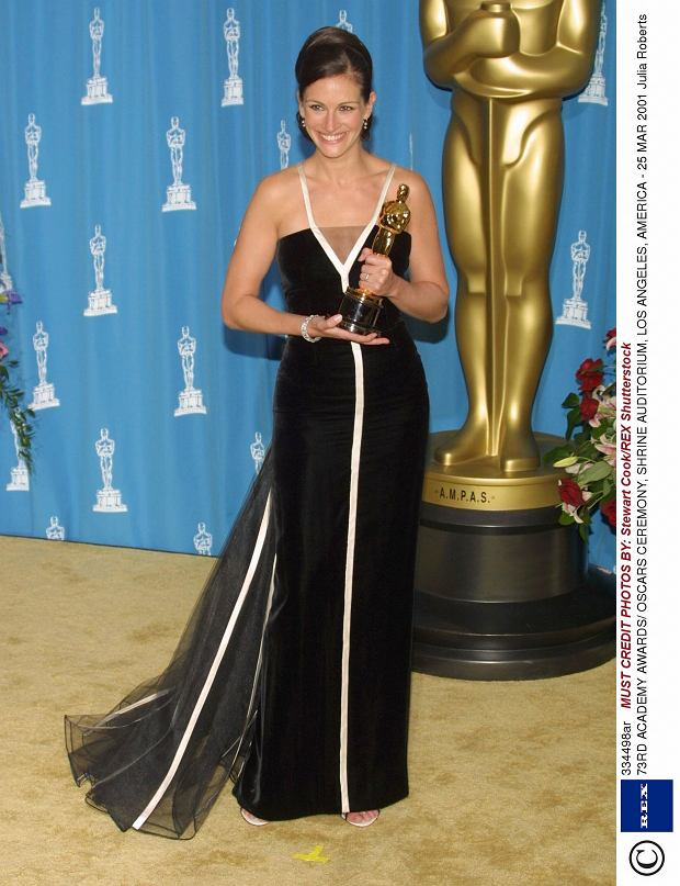 Oscary 2001 - Julia Roberts