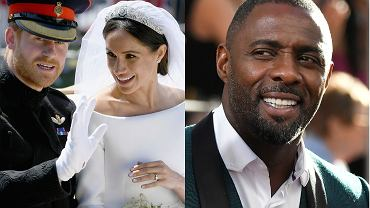 Meghan Markle. książę Harry, Idris Elba