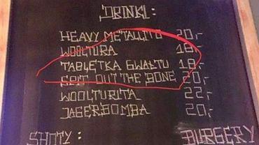 Łódź. Drink o nazwie 'Tabletka gwałtu'