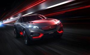Salon Paryż 2014   Peugeot Quartz Concept