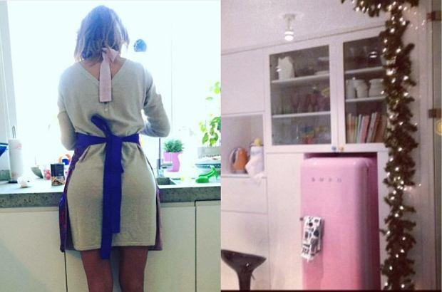 Zdjęcie numer 0 w galerii - Gdzie gotują polskie dziennikarki? Kuchnia Kalczyńskiej to połączenie tradycji i nowoczesności. Z nóg zwala jednak różowa lodówka u... [ZDJĘCIA]