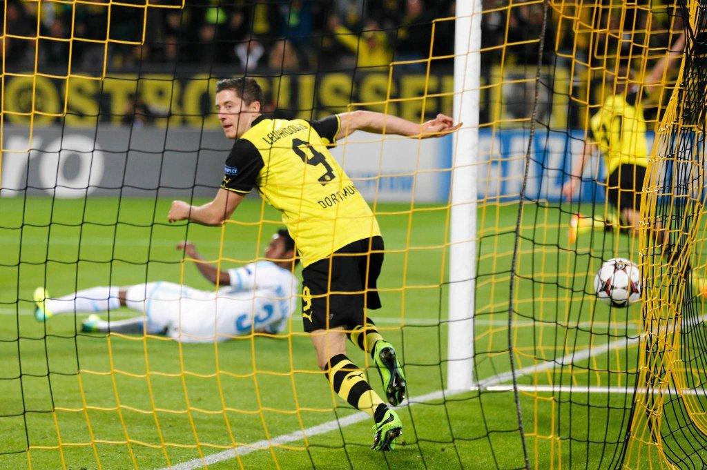Liga Mistrzów. Borussia Dortmund - Olympique Marsylia
