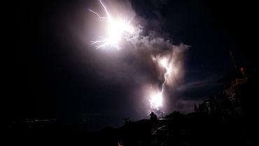 Wybuch wulkanu Taal na Filipinach