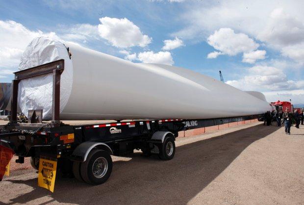 Transport turbiny wiatrowej