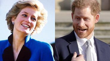 księżna Diana i książę Harry