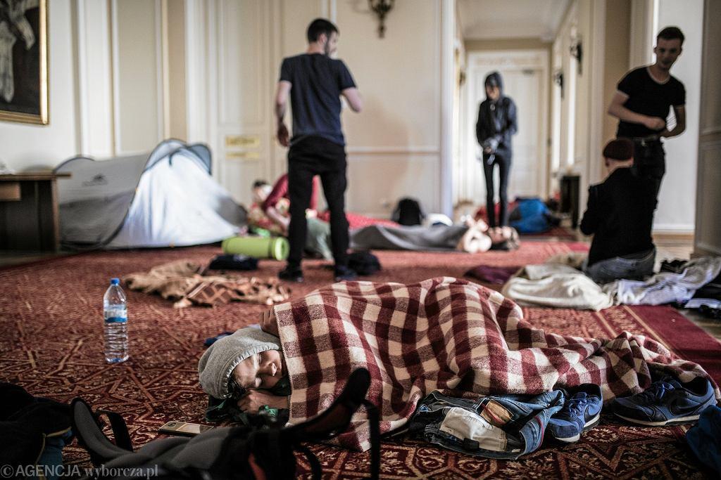 Protest studentów. Nie dla ustawy 2.0 Jarosława Gowina