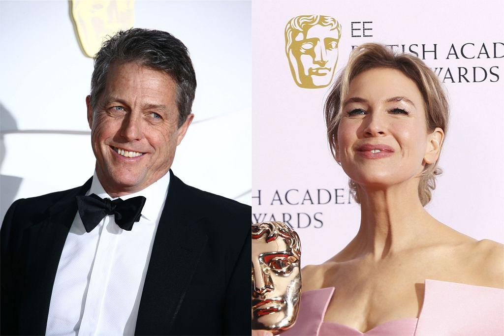 Hugh Grant i Renee Zellweger - BAFTA 2020