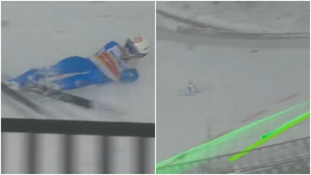 Halvor Egner Granerud upadł i stracił zwycięstwo w Lahti