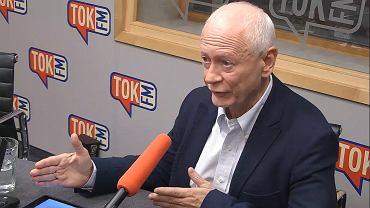 Michał Boni w studiu TOK FM.