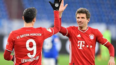 Robert Lewandowski i Thomas Muller