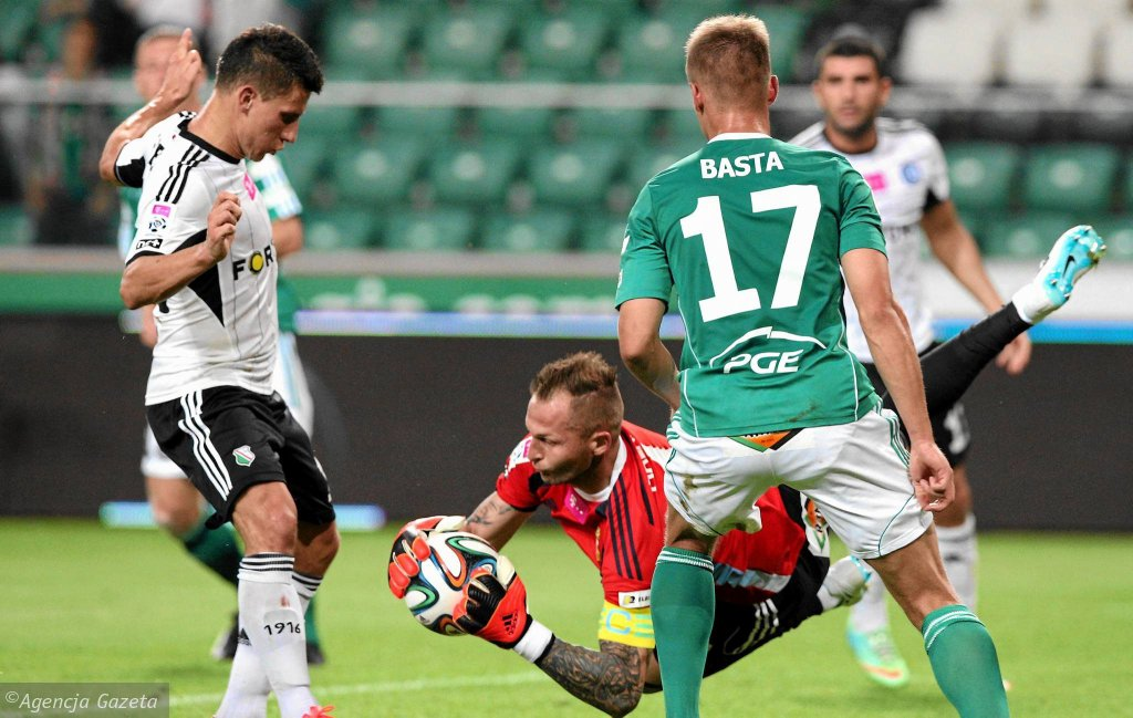 Legia Warszawa - PGE GKS Bełchatów 0:1. Arkadiusz Malarz